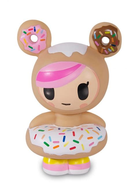Toys Donuts Whitesugar donut donutella nursery room decor interior tokidoki