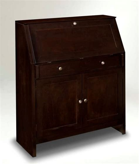 secretary desk espresso pin by just cabinets furniture more on office sweet