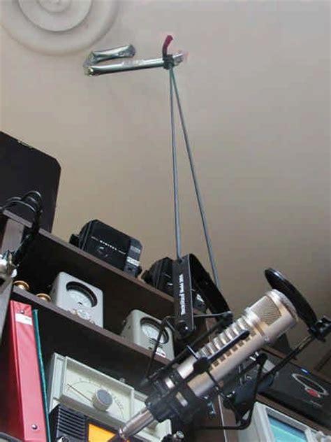 homebrew microphone boom