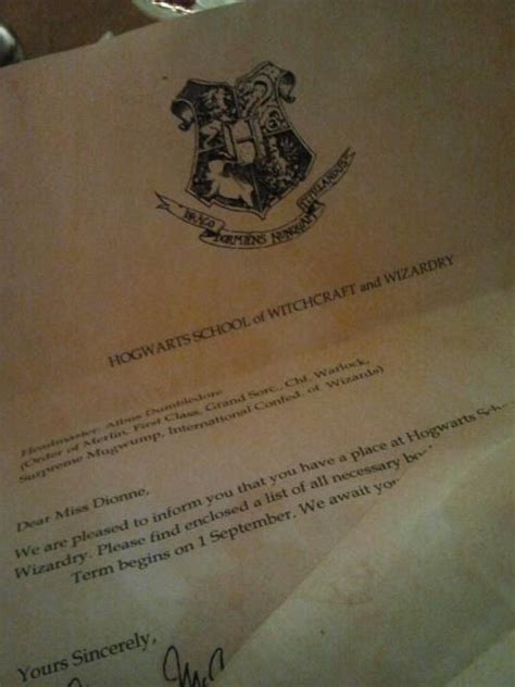 Personalized Hogwarts Acceptance Letter Etsy custom hogwarts acceptance letter harry potter the boy