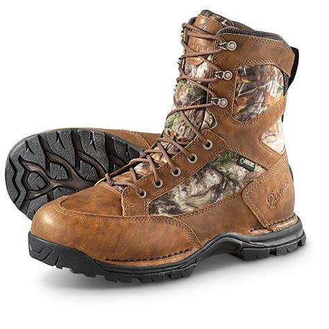 danner boots mens danner pronghorn s insulated boots 400 gram realtree