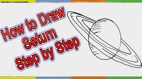 how to make saturn planet how to draw saturn planet step by step for easy
