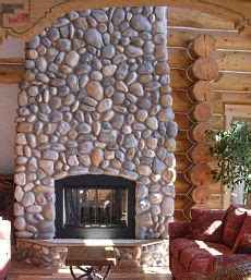 pictures of rock fireplaces standout river rock fireplace pictures real rock