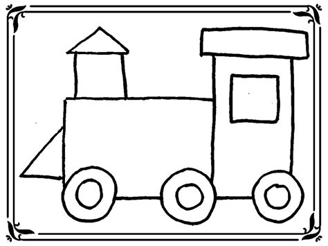 coloring pages of trains for preschoolers simple free train coloring page coloring pages trains
