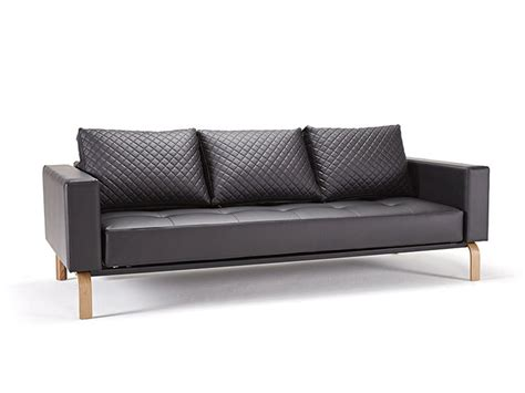 Leather Sleeper Sofa Bed Black Leather Sofa Bed With Oak Legs Bakersfield