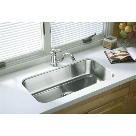 kohler sterling mcallister sink faucet com 11600 na in stainless steel by sterling