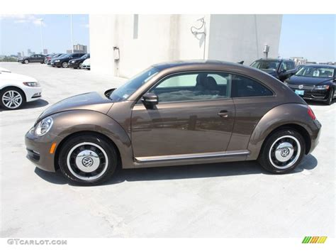 volkswagen brown toffee brown metallic 2013 volkswagen beetle tdi exterior