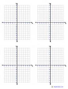 coordinate plane template graph paper template print paper templates
