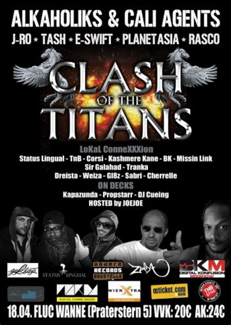 cali agents tha alkaholiks cali agents clash of the titans