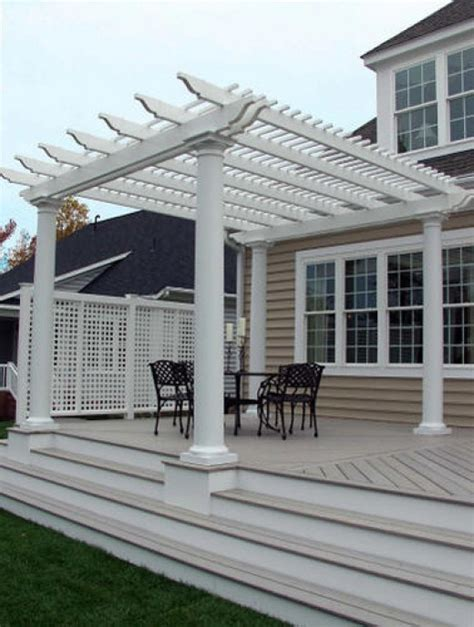 garden pergola with roof different types of outdoor pergola roof materials dengarden