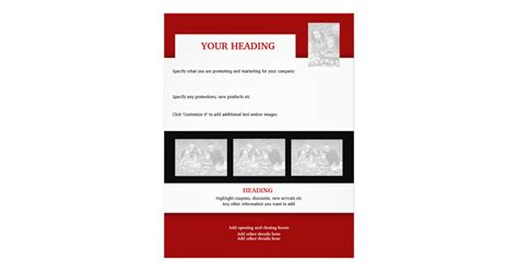 how to create your own template flyer template create your own 8 5 quot x11 quot zazzle
