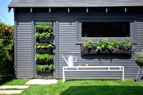 Diy Vertical Garden Pockets Vertical Gardening And S Summer Of Doing