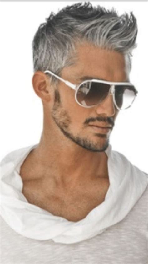 google men s hairstyles best 25 grey hair men ideas on pinterest men s cuts