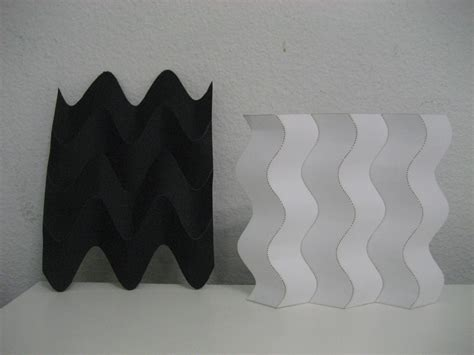 Curved Paper Folding - curved folding experiments wikimal