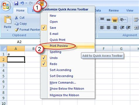printable area word 2013 print preview excel 2010 restoring classic print preview
