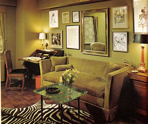 sixties living room groovy interiors 1965 and 1974 home d 233 cor flashbak