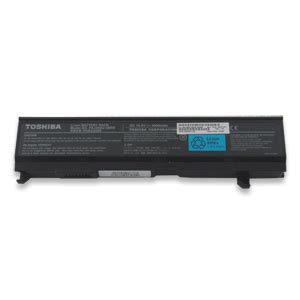 Baterai Original Toshiba A80 A100 A105 A135 M105 Pa3465u Black toshiba product primary 6 cell li ion battery pack part