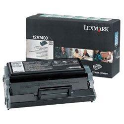 Tinta Lexmark 17 Compaq Black Original original lexmark 12a7400 black toner cartridge