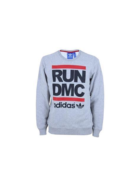 T Shirt Run Dmc Adidas Grey adidas originals x run dmc logo sweat in grey northern