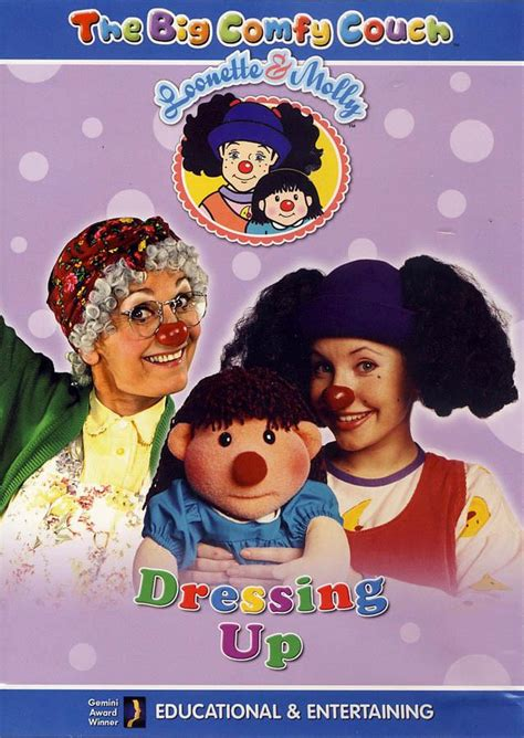 big comfy couch movies big comfy couch dressing up on dvd movie