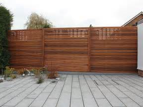 Timber Trellis Fencing Wood Fence Panels Architectural Design