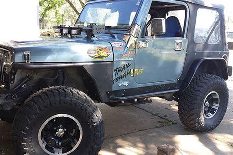 2000 jeep wrangler fender flares smittybilt xrc jeep front fenders aftermarket xrc