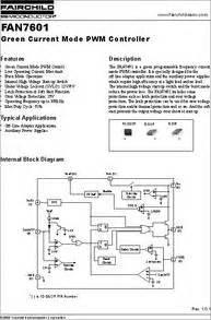 Ic Drv Strobo Abcd 2ch 4ch fan7601 datasheet fan7601 green current mode pwm ic