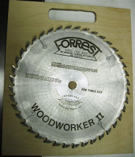 forrest woodworker ii review forrest woodworker ii 40t 1 grind flat by