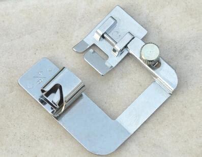 Rolled Hem Foot Singer domestic sewing machine presser hemmer foot 4 8 quot rolled