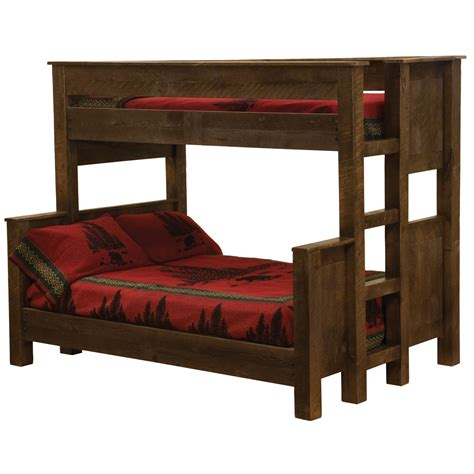 bunk beds queen frontier bunk bed queen twin