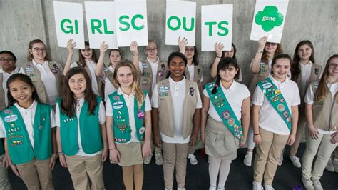 girls scouts of the usa girls scouts of northeast texas world girl scouts slam boy scouts decision to accept girls