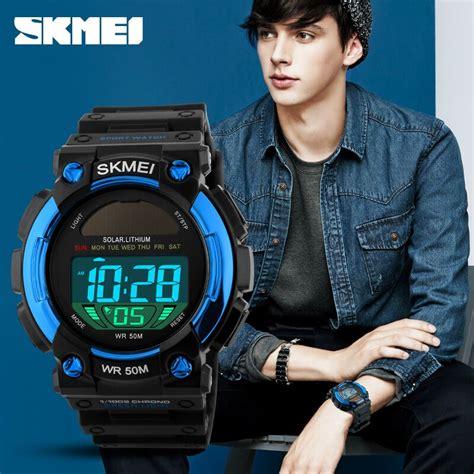 Ready Gan Skmei Casio Sport Led Water Resistant 50m 2 toko jam casio di jakarta on jam tangan murah