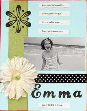 sle layout of scrapbook exle scrapbook pages