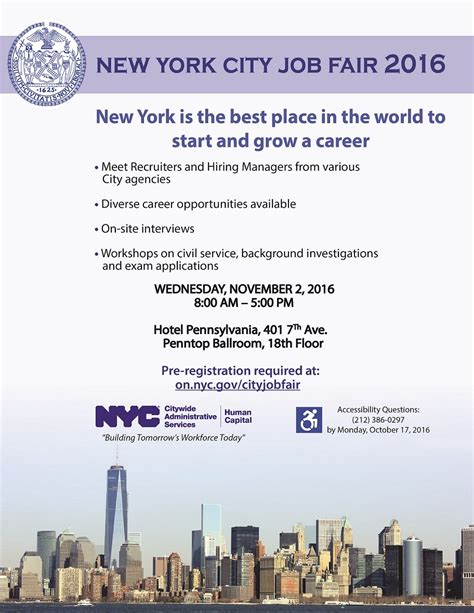 Mba Career Fair Nyc by New York City Fair 2016 In New York The 1 Resource