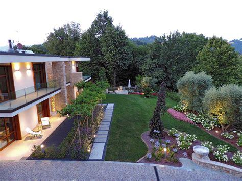 giardino ville progettazione e realizzazione giardino villa nel bosco