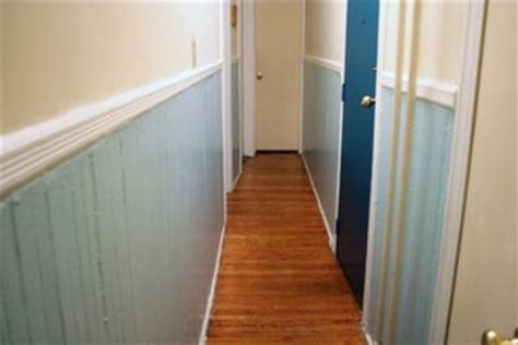 breaking up a narrow hallway with paint colors