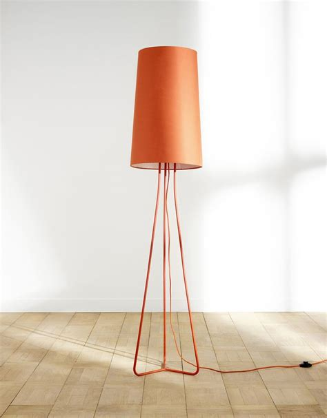 castorama b ton cir 3597 un ladaire au design unique coloris orange