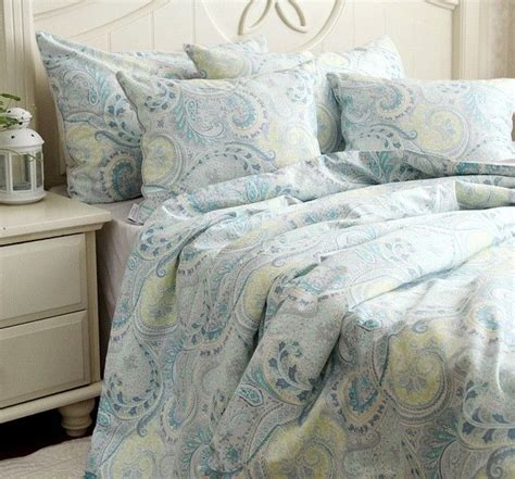 blue paisley bedding blue paisley queen bedding set for the home pinterest