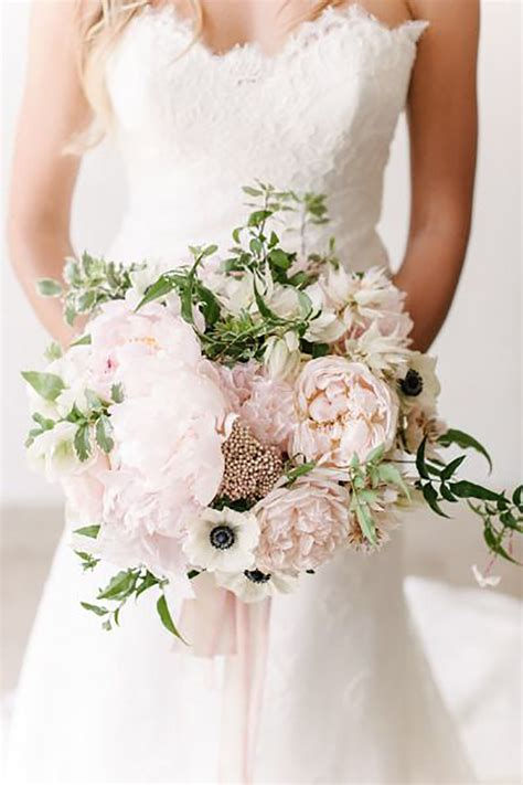 pink wedding flower bouquets pictures pastel pink wedding flowers chwv