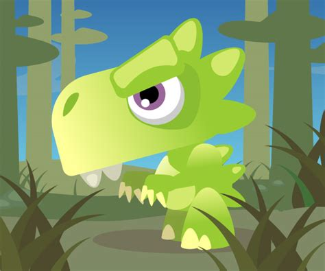 inkscape tutorial cartoon quick tip how to create a cute cartoon dinosaur