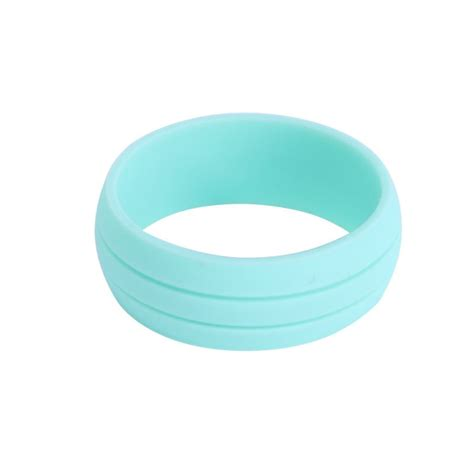 1pc comfort silicone wedding band rings men women flexible