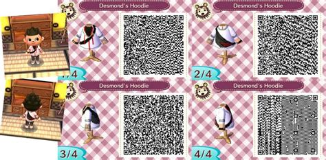 acnl mens qr codes acnl design desmond s hoodie by theprotectorjerdana on