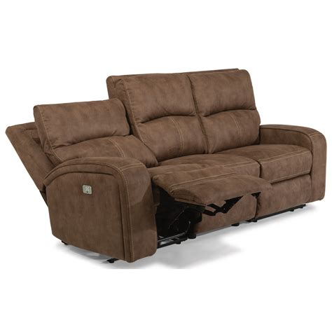 flexsteel power reclining sofa flexsteel latitudes rhapsody 1150 62ph contemporary power