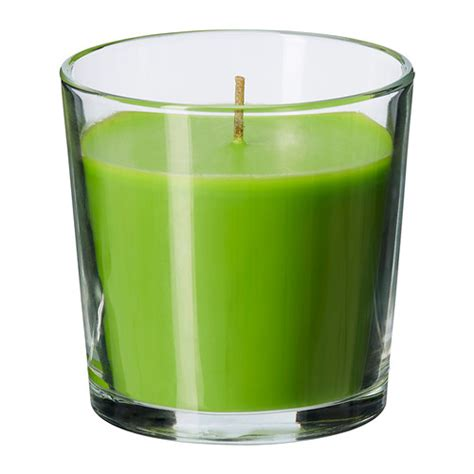 Candle Glassware Sinnlig Scented Candle In Glass Ikea