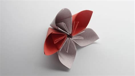 Easy Paper Origami Flower - easy origami flower wallpaper high definition high