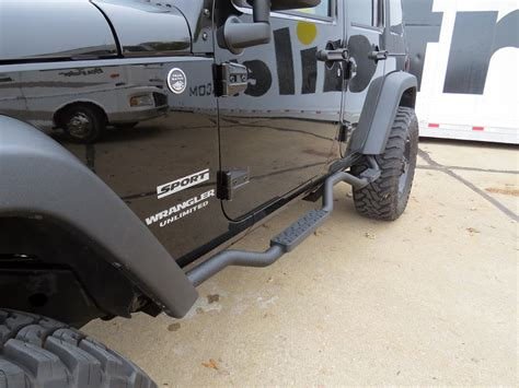 Jeep Running Boards 2016 Jeep Wrangler Unlimited Nerf Bars Running Boards