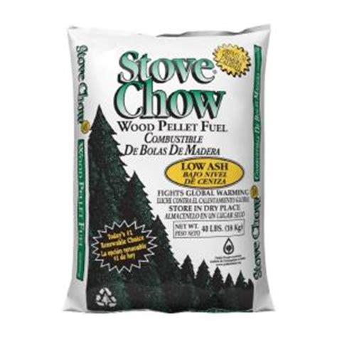 stove chow premium wood pellet fuel 40 lb bag stove chow
