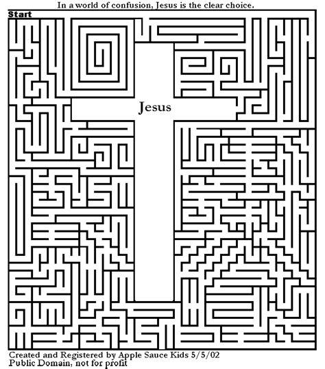 printable maze book free religious printables trinity fun pages at kidz