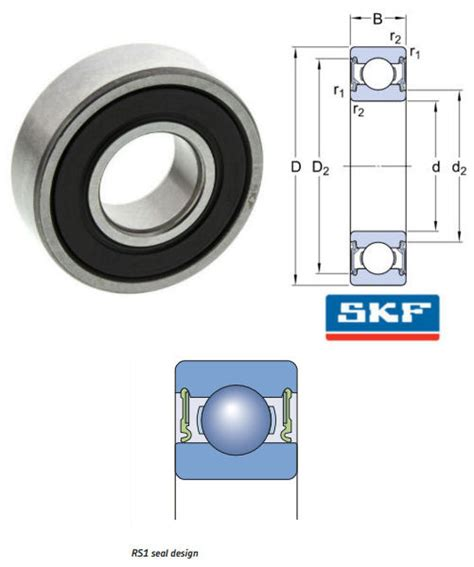 Bearing 6214 2rs1 Skf 6212 2rs1 c3 skf skf groove bearings bearing king