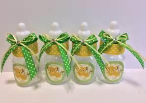 Lion king baby shower baby bottles favors by marshmallowfavors
